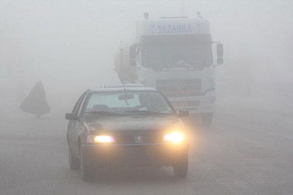 راه های آذربایجان شرقی مه آلود و لغزنده است
