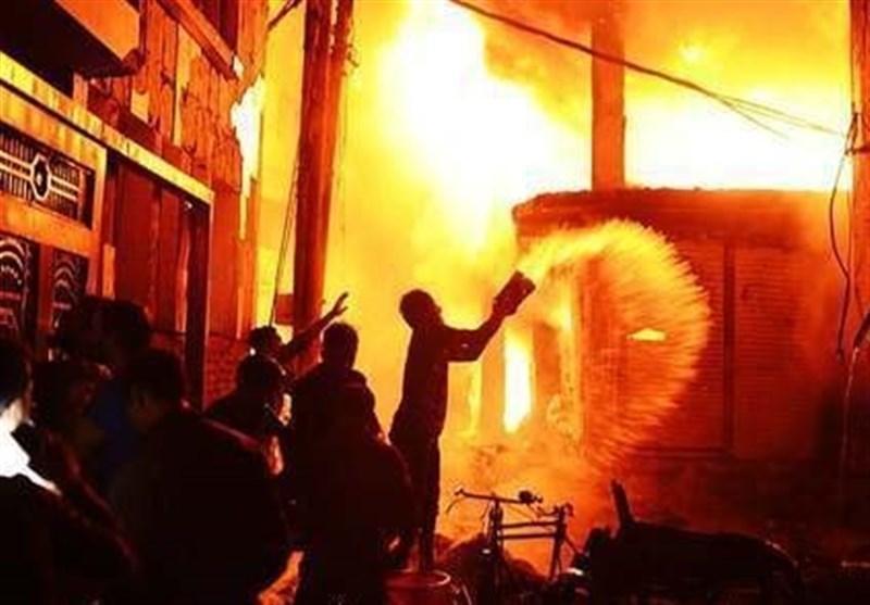 آتش سوزی یک کارخانه در بنگلادش جان 10 نفر را گرفت
