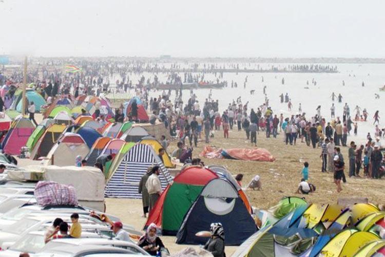 کمپینگ گردشگری بندر گناوه به بهره برداری رسید