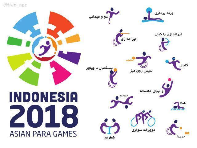 پاداش مدال آوران بازی های پاراآسیایی تعیین شد