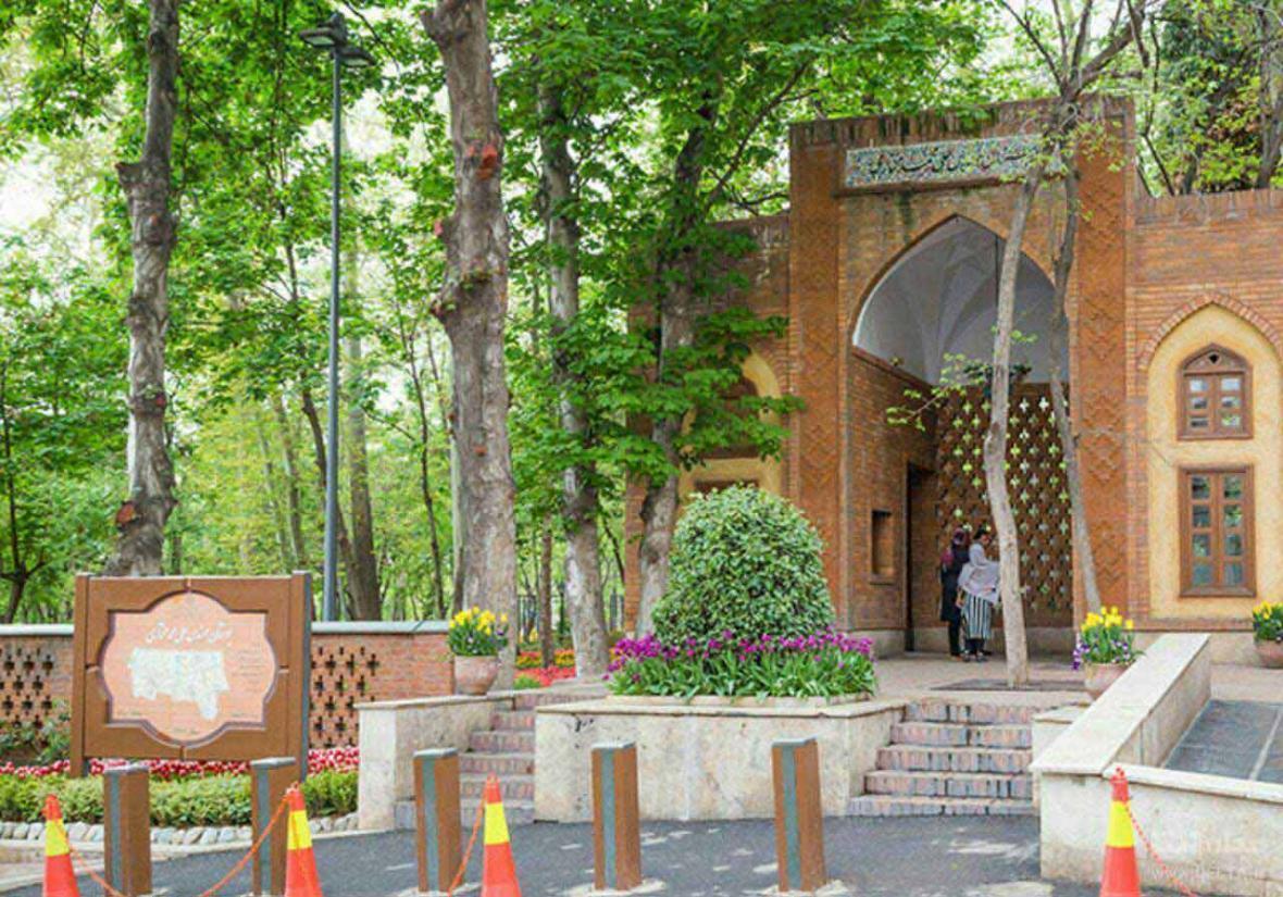 بوستان باغ ایرانی ؛ سروستانی با معماری سنتی