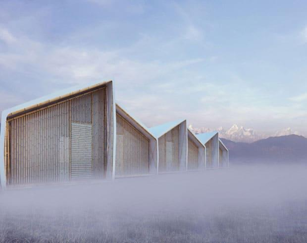 طراحی پناهگاه موقت برای زلزله زدگان