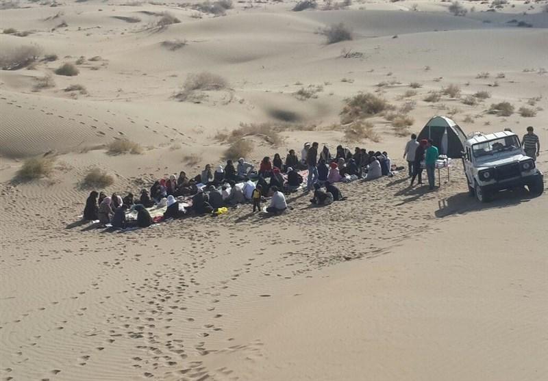تور گردشگری از کویر اکبرآباد شهرستان خوسف دیدن کرد