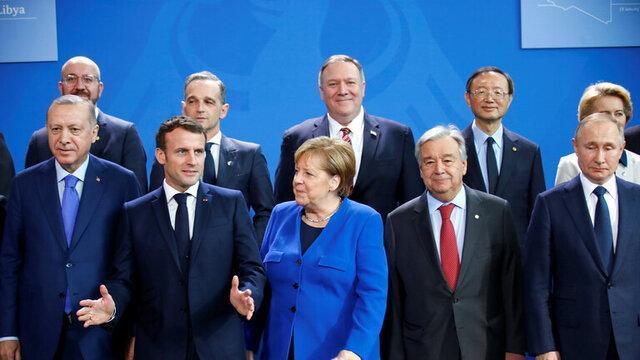 شروع کنفرانس برلین با موضوع لیبی