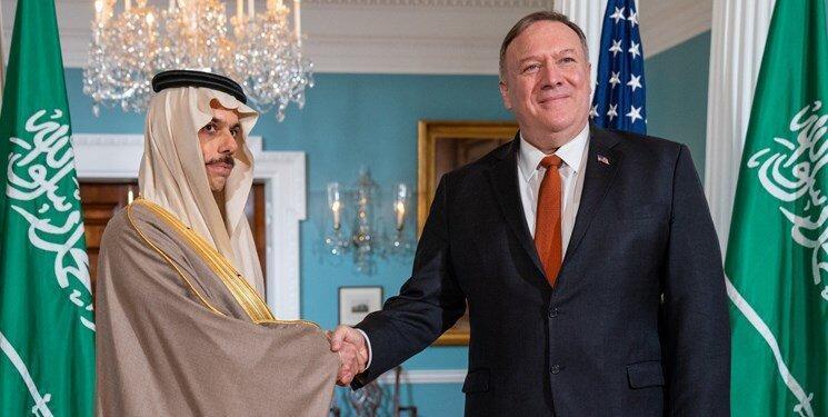 جزئیات دیدار پمپئو با وزیر خارجه سعودی درباره ایران