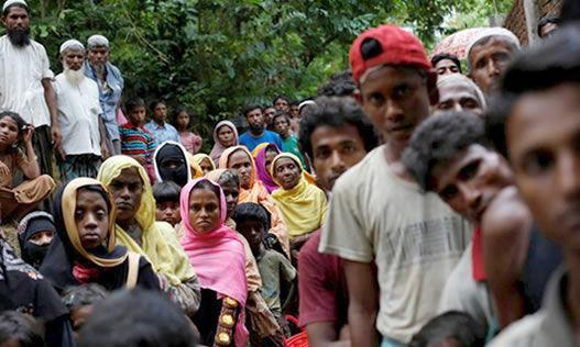 خبرنگاران فشار هند بر میانمار برای بازگشت مسلمانان روهینگیا