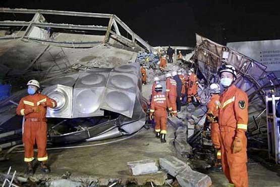 7 کشته در حادثه فروریختن محل قرنطینه بیماران چینی