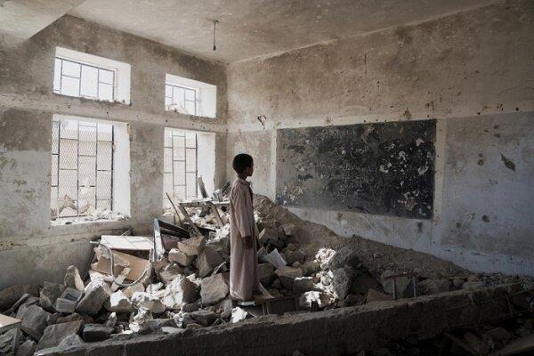 ائتلاف متجاوز سعودی بیش از 3 هزار مدرسه یمن را تخریب کرده است