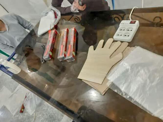 راه اندازی کارگاه تولید دستکش در فسا
