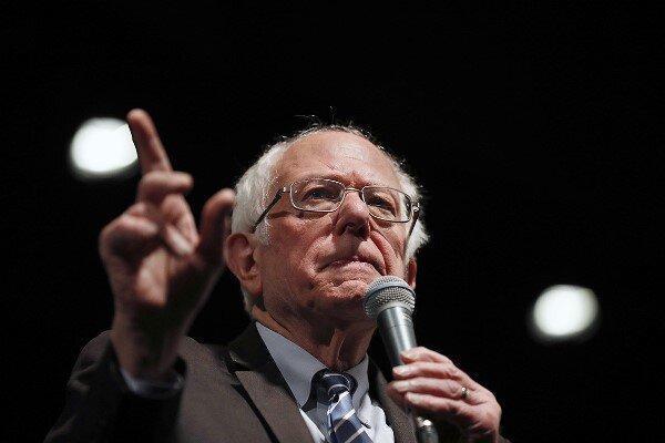 سندرز از نامزدی بایدن در انتخابات آمریکا حمایت کرد