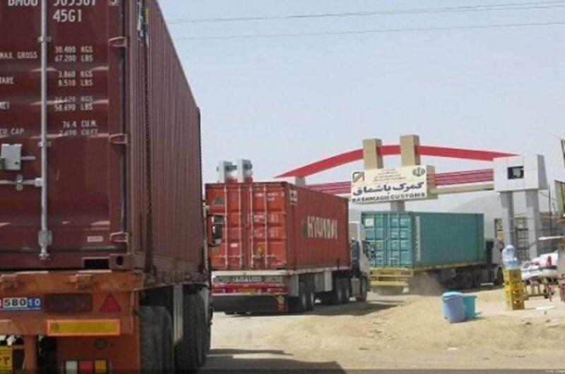 خبرنگاران پارسال بیش از 2 میلیون تُن کالا از گمرکات کردستان صادر شد