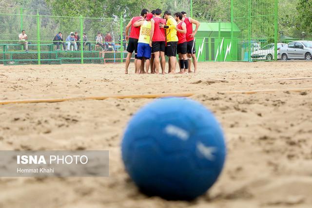 حضور تیم ملی هندبال ساحلی در بازی های ساحلی آسیا