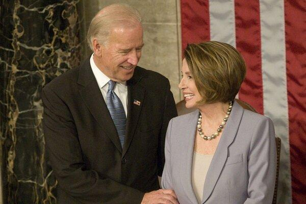 رئیس مجلس نمایندگان آمریکا حمایت خود را از جوبایدن بیان کرد