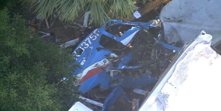 سقوط بالگرد پلیس آمریکا در هیوستون و مرگ یاری خلبان پرواز
