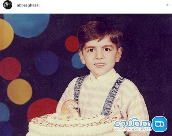 عکس کودکی بازیگر شرایط سفید