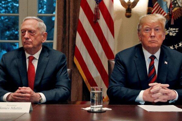 وزیر دفاع سابق آمریکا ترامپ را به تفرقه افکنی میان مردم متهم کرد