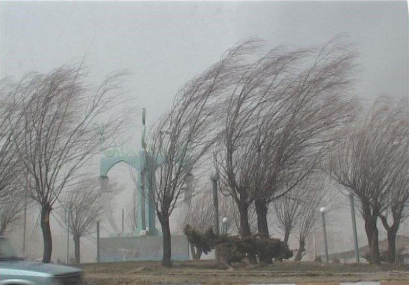 هشدار سازمان هواشناسی ، باد شدید در 6 استان طی 2 روز آینده
