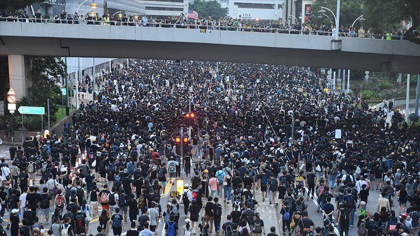رویترز: مخالفان دولت هنگ کنگ نتوانستند حمایت کافی برای تظاهرات بدست آورند