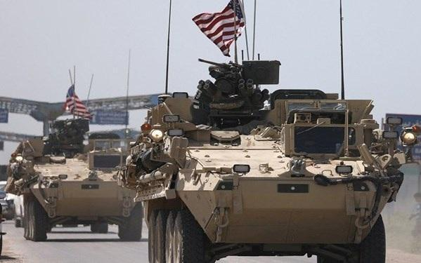 انفجار بمب در جهت کاروان نظامیان آمریکا در شرق سوریه