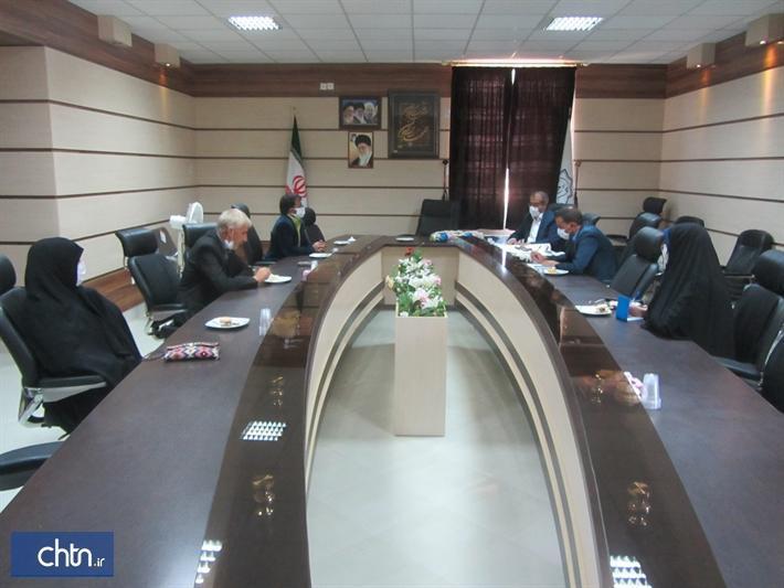 برگزاری سومین جلسه کمیسیون مهر و میراث در شهر آیسک