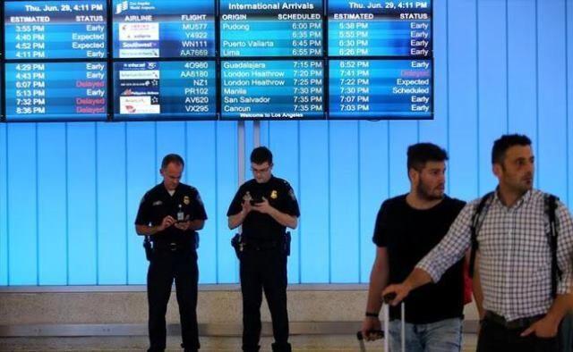خبرنگاران آمریکا توصیه عدم انجام سفرهای خارجی را لغو کرد