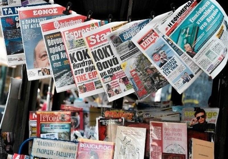 نشریات ترکیه، ترس از جرقه درگیری در شرق مدیترانه، میانجیگری آلمان بین ترکیه و یونان