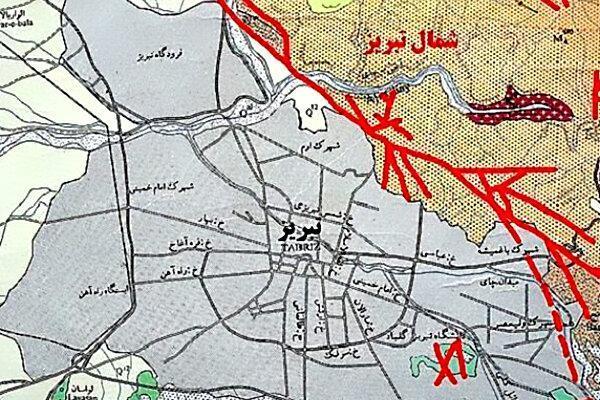 هشدار ، فعالیت گسل تبریز آغاز شده است