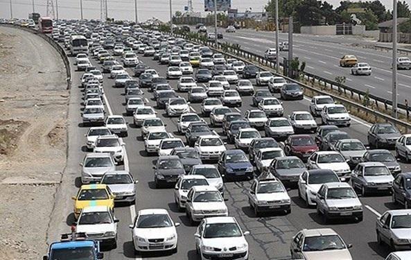 شرایط ترافیک جاده های خروجی تهران