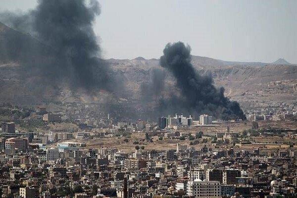 بمباران استان های مختلف یمن توسط جنگنده های سعودی