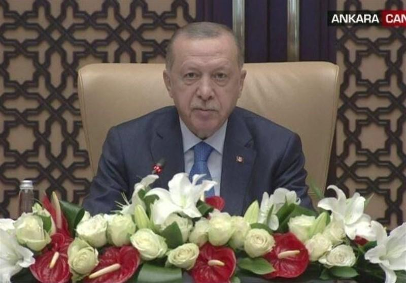 اردوغان: ارسال تجهیزات پزشکی به ایران نشانه عمق روابط ماست