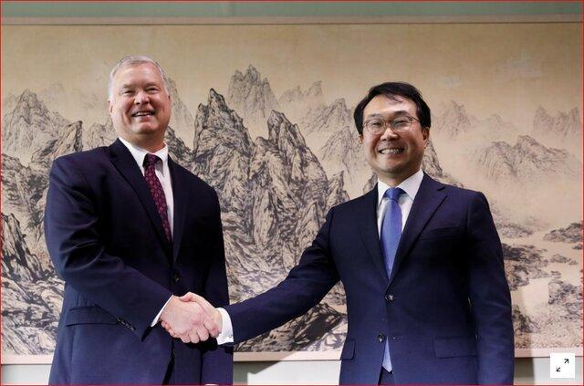 مذاکره کننده ارشد اتمی کره جنوبی به ملاقات مقامات آمریکایی رفت
