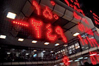 پایان معاملات بورس با چراغ قرمز