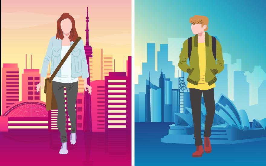مقاله: کانادا یا استرالیا؟ تورنتو یا سیدنی؟ کدام برای مهاجرت و زندگی گزینه بهتری است؟