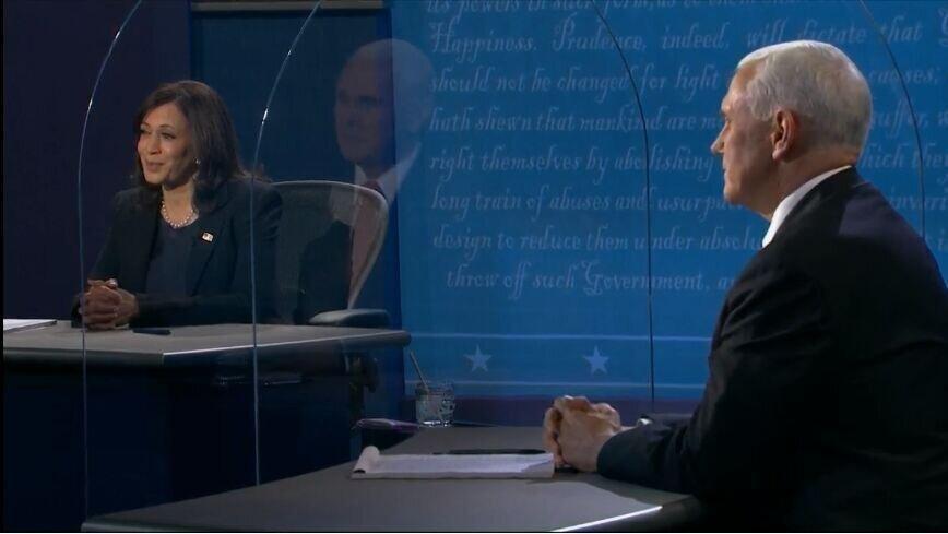 مناظره 90 دقیقه ای کامالا هریس و مایک پنس؛ از کرونا تا توافق هسته ای