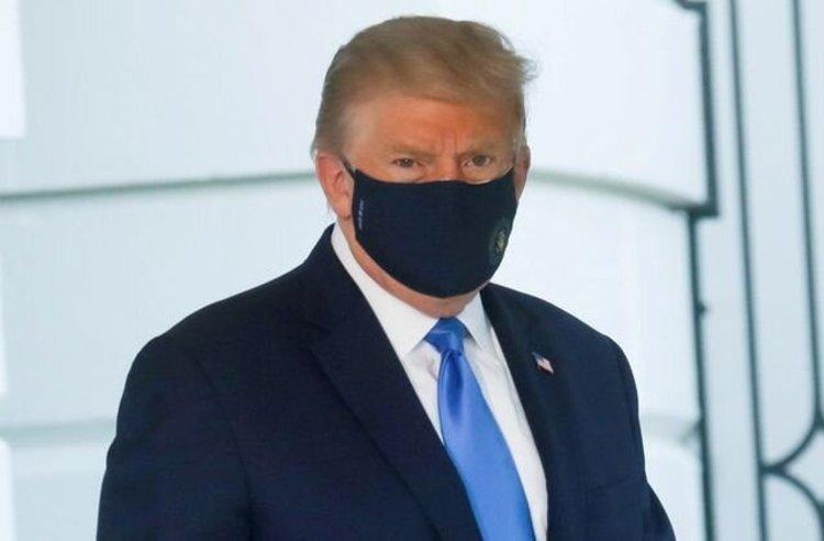 ترامپ نه تب دارد و نه علایم کرونا