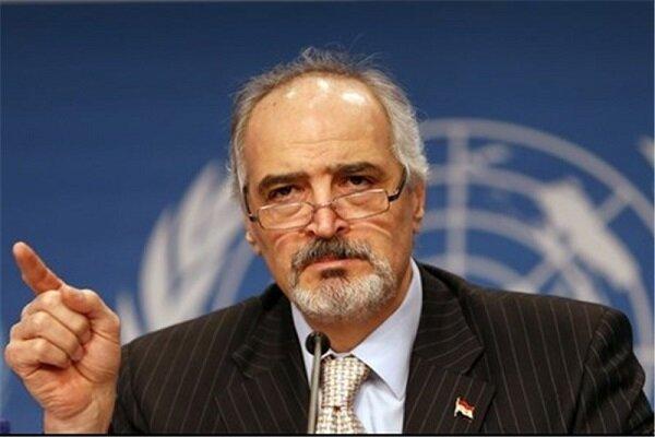الجعفری: تحریم های یکجانبه علیه سوریه رفع شود