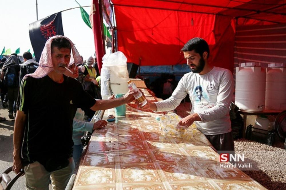موکب اربعین حسینی در مناطق محروم استان سیستان و بلوچستان برپا می گردد