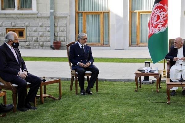ملاقات فرستاده کاخ سفید با نمایندگان مذاکرات بین افغانی