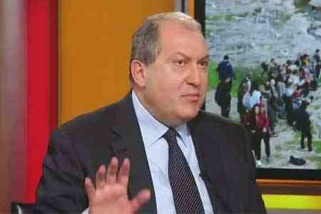 رئیس جمهوری ارمنستان خواهان استعفای دولت پاشینیان شد
