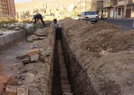 برق رسانی به مرکز ذخیره و توزیع آب مرزداران اجرا شد