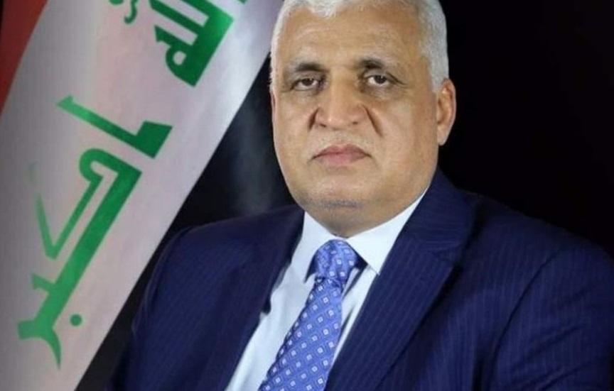 رئیس سازمان حشد الشعبی عراق وارد دمشق شد