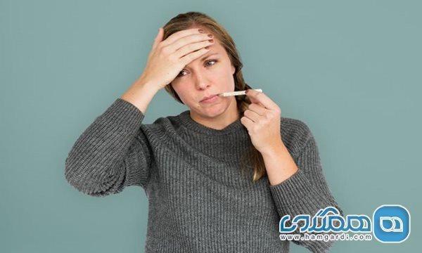 آیا استرس موجب تب می گردد؟