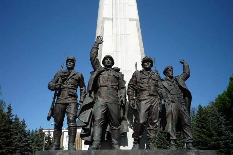 7 بنای یادبود جنگ روسیه