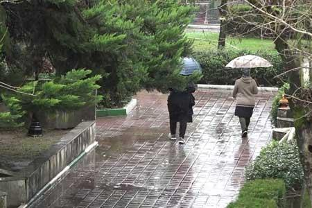 تداوم بارش باران در نقاط مختلف کشور