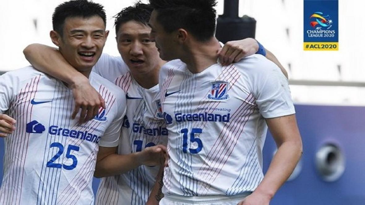 لیگ قهرمانان آسیا، پیروزی شانگ های مقابل نماینده استرالیا