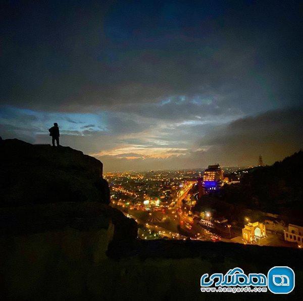 امیر جدیدی و نمایی از شهر شیراز