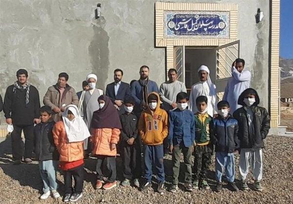 افتتاح مدرسه در مناطق محروم مرزی توسط قهرمانان کشتی