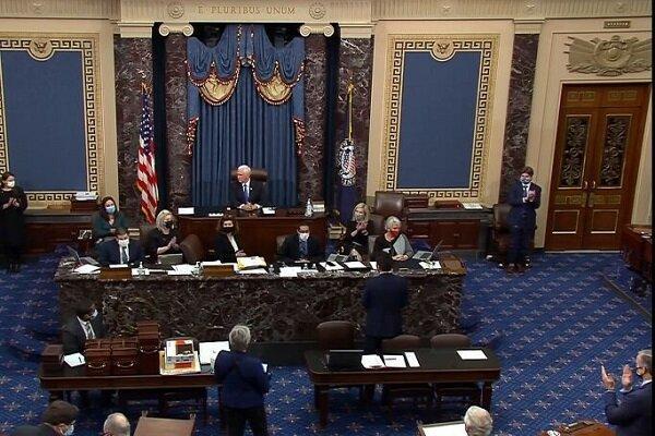 ازسرگیری نشست کنگره برای تایید نتایج انتخابات آمریکا