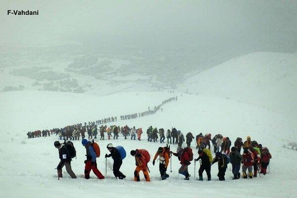 مخاطره آمیز بودن برنامه صعود و کوهنوردی در روزهای پایانی هفته