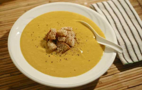 طرز تهیه سوپ کدو